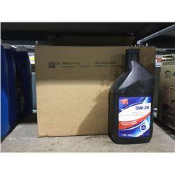 Case of SAE 5W-20 Premium Motor Oil (12 x 946mL)