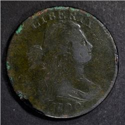 1800/1798 LARGE CENT FINE, SOME CORROSION