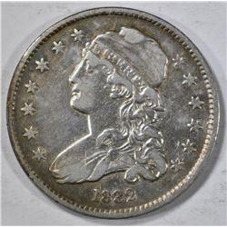 1832 BUST QUARTER XF