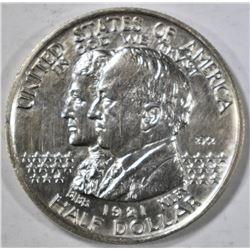 1921 ALABAMA 2X2 COMMEM HALF DOLLAR AU/BU