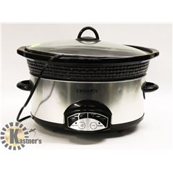 CROCK POT AND PLATTER WITH LID
