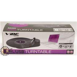 VIBE USB TURNTABLE