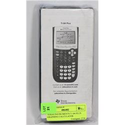 TEXAS INSTRUMENTS T-184 PLUS GRAPHING CALCULATOR