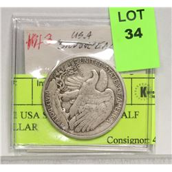 1941 USA SILVER EAGLE HALF DOLLAR