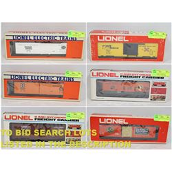 FEATURED O-SCALE TRAIN CARS
