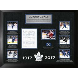 Toronto Maple Leafs - 20,000 franchise goals collage (73-953)