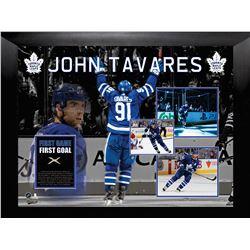 John Tavares, First goal as a Maple Leaf (73-972)