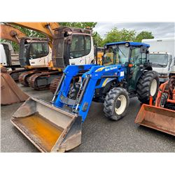 2012 NEW HOLLAND T4050 TRACTOR, BLUE, VIN # ZCJA01867