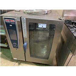 "RATIONAL SCC WE 101 STAINLESS STEEL ""SENSES"" SELF COOKING CENTER HEAVY DUTY COMBINATION OVEN"