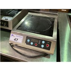 COMMERCIAL STAINLESS STEEL SCOTT CERAN SINGLE BURNER ELECTRIC INDUCTION COOKTOP