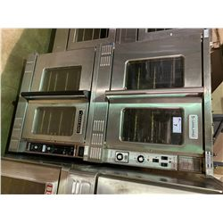 DOUBLE GARLAND MASTER 200 STAINLESS STEEL MOBILE ELECTRIC CONVECTION OVENS
