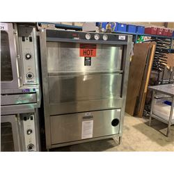 DOUGLAS MACHINES CORP. CHAMPION PP-20-ELEL 208/3 STAINLESS STEEL COMMERCIAL POT / PAN RACK WASHER