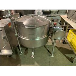 CLEVELAND 28860 COMMERCIAL STAINLESS STEEL TILTING STEAM KETTLE