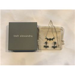 Leah Alexandra Sunny Necklace & Earrings