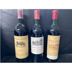 Wine Auction package #1,  Chateau Larcis Ducass, Chateau Bouscart,