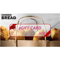 eGift Card from your favorite restaurant, Breakfast, lunch and dinners are made easier with this