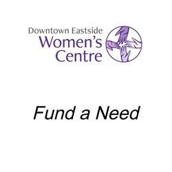 $750: Meal Sponsorship, $750 is the cost of a meal at the drop-in centre, where the kitchen serves