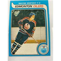 AUTHENTIC OH-PEE-CHEE 1979 WAYNE GRETZKY EDMONTON OILERS HOCKEY CARD
