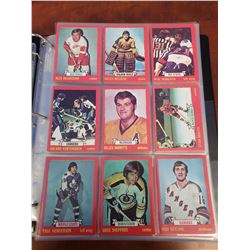 OH-PEE-CHEE 1973-74 HOCKEY CARDS (INCOMPLETE)