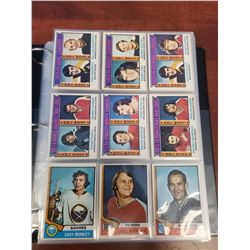 OH-PEE-CHEE 1974-75 HOCKEY CARDS (INCOMPLETE)
