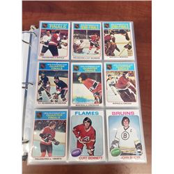 OH-PEE-CHEE 1975-76 HOCKEY CARDS (INCOMPLETE)