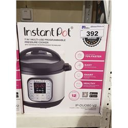 INSTANT POT 7-IN-1 MULTI USE PROGRAMMABLE PRESSURE COOKER IP-DUO80 V2 8 QUART