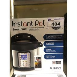 INSTANT POT SMART WIFI MULTI USE PROGRAMMABLE PRESSURE COOKER 6 QUART