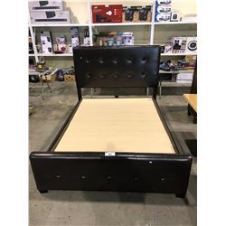 QUEEN SIZE BEDFRAME & BOX SPRING