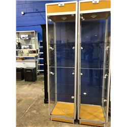 "GLASS DISPLAY UNIT (89.5 X 22 X 22"")"