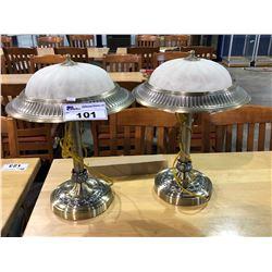 2 DESK LAMPS