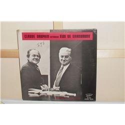 8 Unopened MINT old LP Claude Dauphin retrouve Eloi de Grandmont 33 disque vieux encore TOUT NEUF
