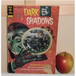 Gold Key as is cover Dark Shadows old #25 April 1974 comics book - bande dessinée telle couverture
