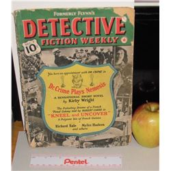 Formerly's Flynn's Detective Fiction Weekly vol 141 December 7 1940 as is no back cover 112 pages
