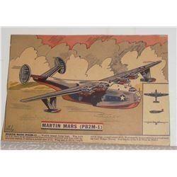 Aviation WWII airplane Important history RARE image Martin Mars (PB2M-1) - avion important 2e Guerre