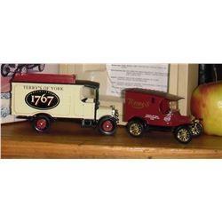 Corgi The Terry's of York Thornycroft Van & Model T Van 2 die casts Ltd Edition with stories jouets
