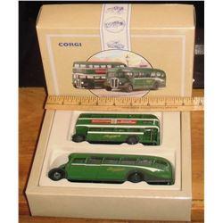 Limited edition Corgi Fareham & Gosport 2 toys mint in box - 2 jouets toujours neufs dans leur boite