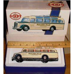 Dinky Reiseburo Ruff 1950 bus toy mint in box - autobus jouet encore neuf dans sa boite