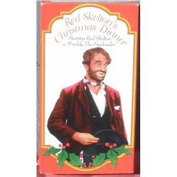 Red Christmas Diner FUN VHS tape - Skelton en anglais Noël ses plaisirs comiques pour vous