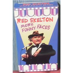 RedSkelton More Funny Faces VHS tape - en anglais les visages comiques de Red Skelton