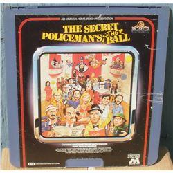 """13x14"""" home videodisc The Secret Policeman's Other Ball - en anglais disquevideo"""