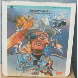 """13x14"""" home videodisc Smokey's Back - en anglais disquevideo"""