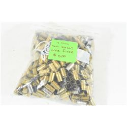 500 Pieces 9mm Luger Brass