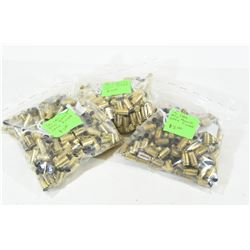 750 Pieces 40 S&W Brass