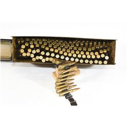 270 Rounds 8mm Mauser on MG42 Belt