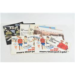 8 Vintage RCMP Recruiting Booklets