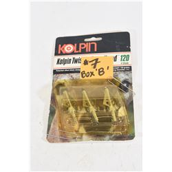 3 Kolpin Twister Broadheads