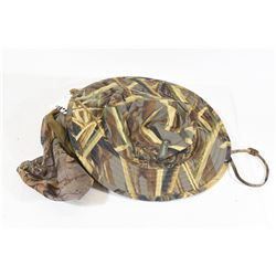 Camo Columbia Hat and Face Veil