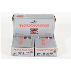 149 Rounds Winchester 380 Auto 85grn Silvertip