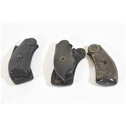 3 Sets Vintage Pistol Grips