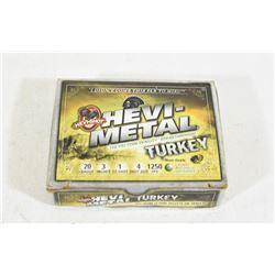 "5 Rounds 20ga  x 3"" Turkey Loads"